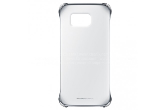Clear Cover SAMSUNG Galaxy S6 Plateado