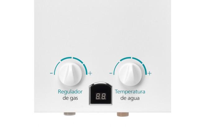 Calentador de Paso MABE 12Lt Tiro Natural CMP12TNB Blanco4