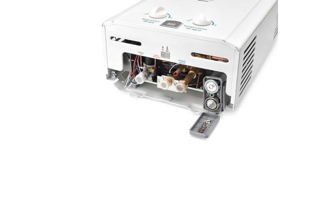 Calentador de Paso MABE 12Lt Tiro Natural CMP12TNB Blanco5