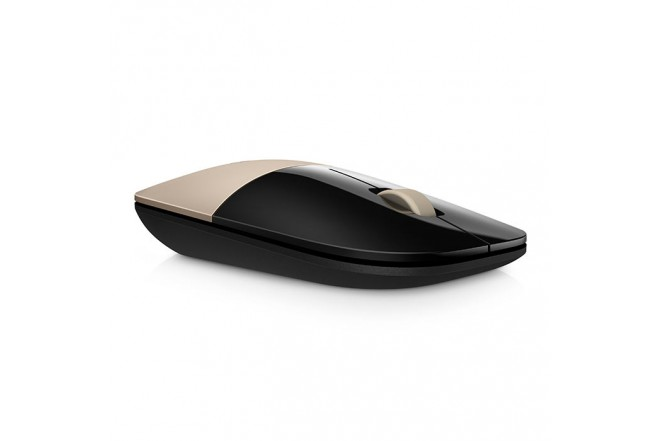Mouse HP Inalámbrico Z3700 Dorado