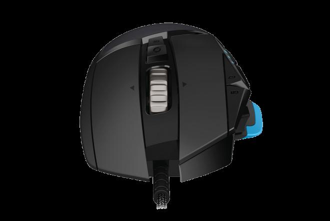 Mouse LOGITECH Alambrico Óptico G502