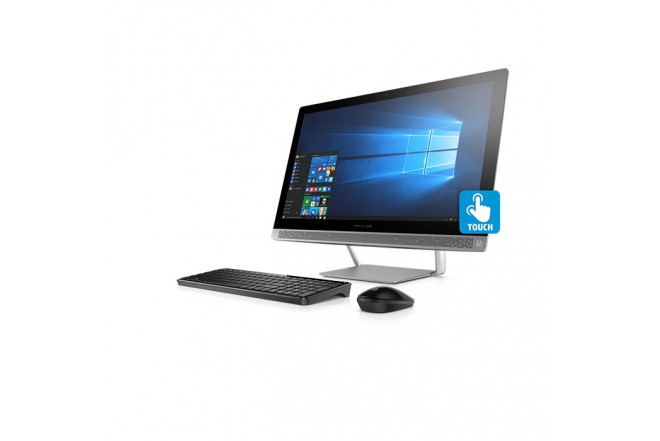 "PC All In One HP 24-B213 A10 23.8"" Gris"
