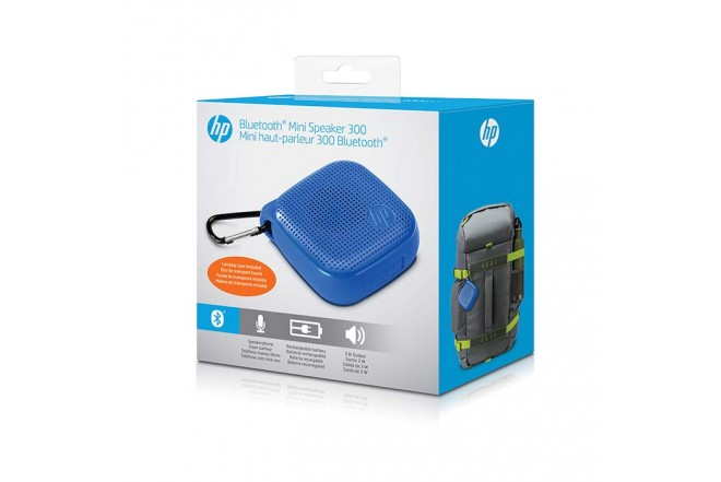 Parlante HP 300 Bluetooth Azul