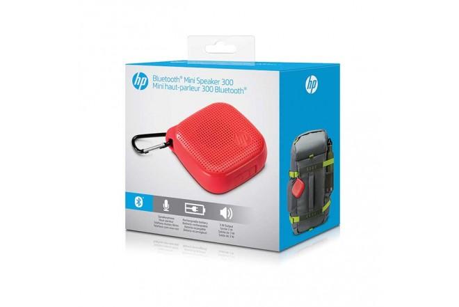 Parlante HP 300 Bluetooth Rojo