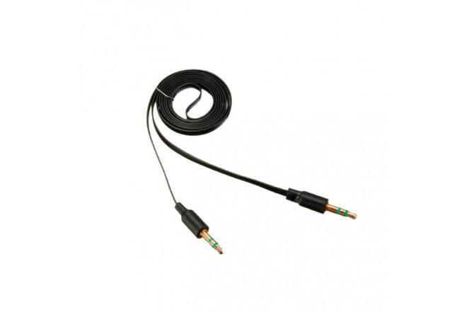 Cable KALLEY Uno/Uno Plano 1 Mt Negro