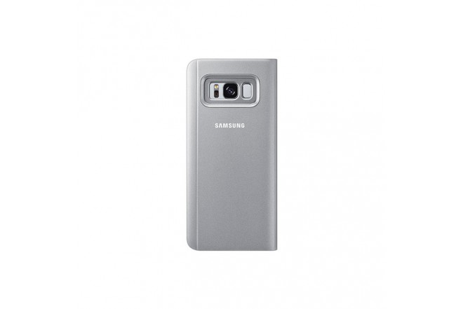 ClearView Stan Cover SAMSUNG S8 Plata