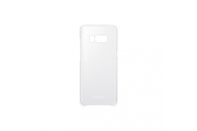 Clear Cover SAMSUNG S8 Plus Plata