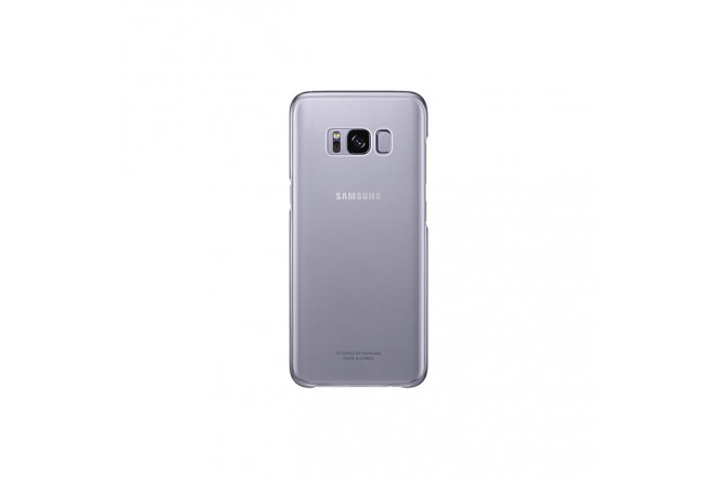 Clear Cover SAMSUNG S8 Plus Violeta