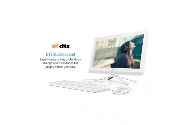 "PC All in One HP - 20-C205 - Intel Celeron - 19.5"" Pulgadas - Disco Duro 1Tb - Blanco"