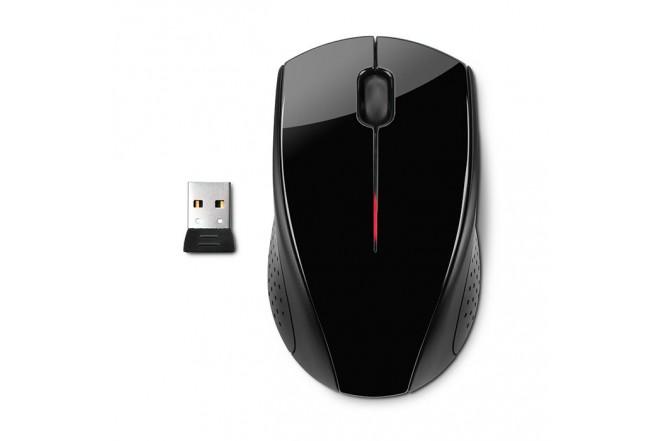 Mouse HP X3000 Inalámbrico Bliste Negro