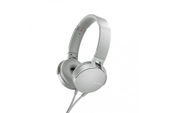 Audífonos SONY Alambrico OnEar ML XB550 Blanco