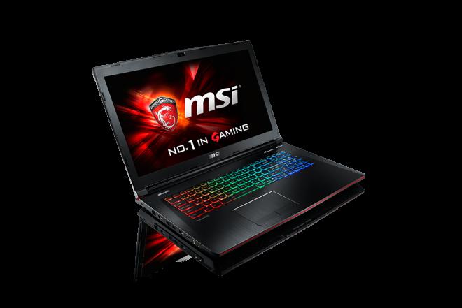 "PNG-Portátil Gamers MSI GE72 i7 17.3"" Negro"