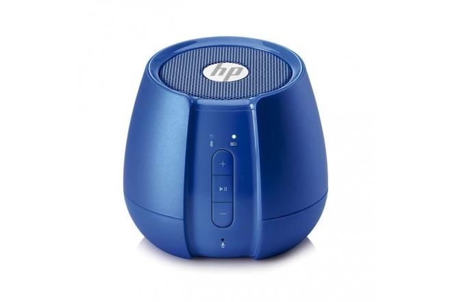 Kit Regalo Perfecto HP Audífono + Parlante Azul