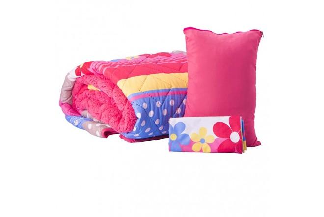 Comforter Estampado KAMUCHY Sencillo Ovejero Coral