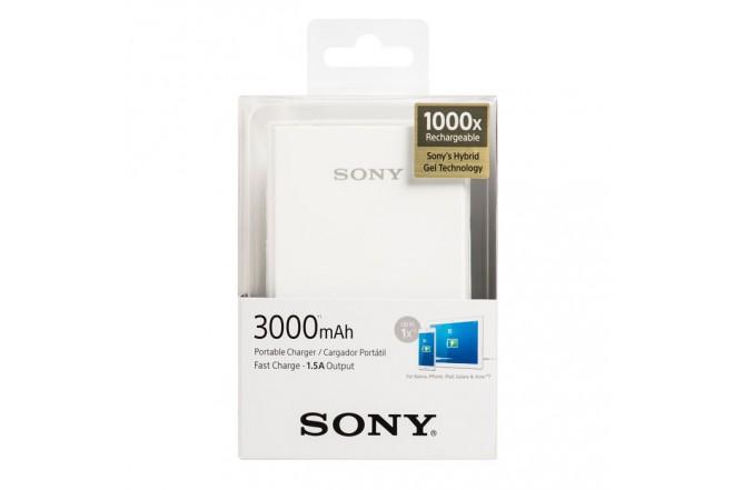 Bateria Recargable SONY 3000mAh Blanco