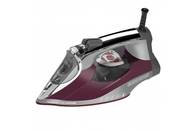 Plancha D3501 Tempe avanzada Black and Decker 1