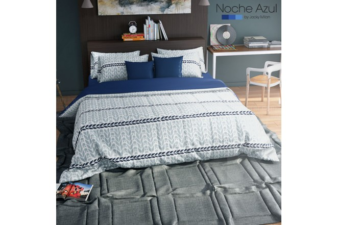 Comforter NOCHE AZUL Danna Blue 144 Hilos