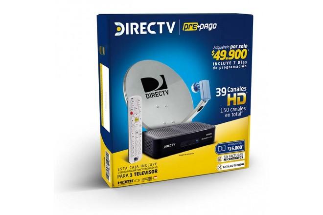 Set DIRECTV Prepago 1 Deco HD