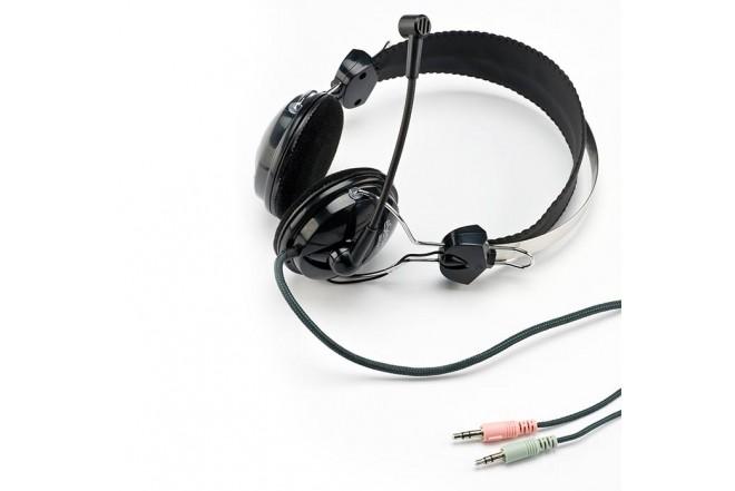Audífono Diadema - Micrófono ESENSES MH810 Metálico