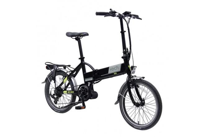 Bicicleta E-city Dobla 250W Negra