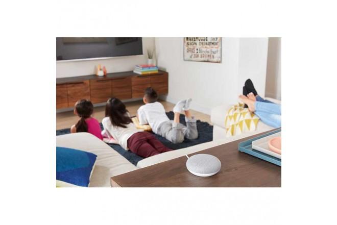 Parlante Google Home Mini Gris_4