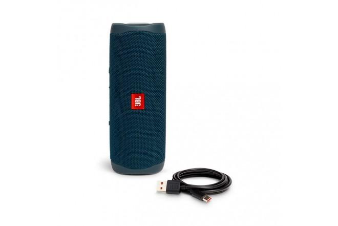Parlante JBL Flip 5 Bluetooth 20W Azul