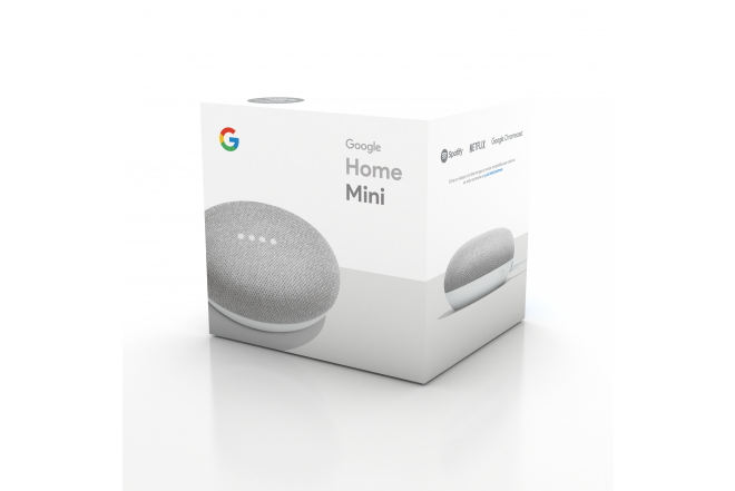 Parlante Google Home Mini Gris 7