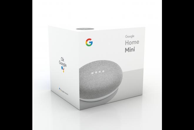 Parlante Google Home Mini Gris 8