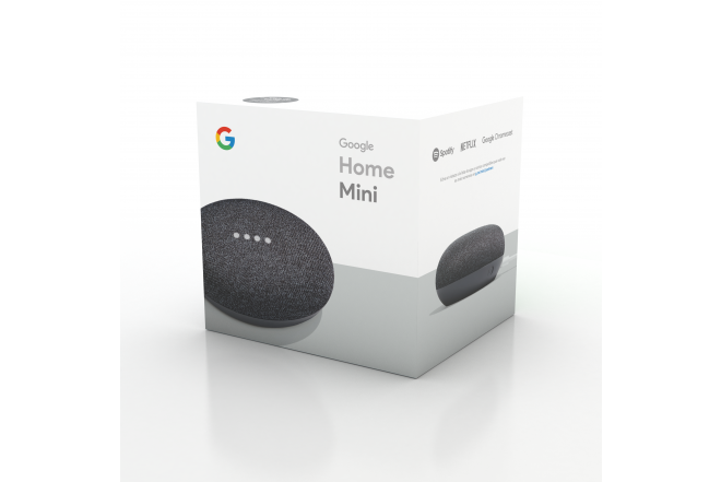 Parlante Google Home Mini Negro 4