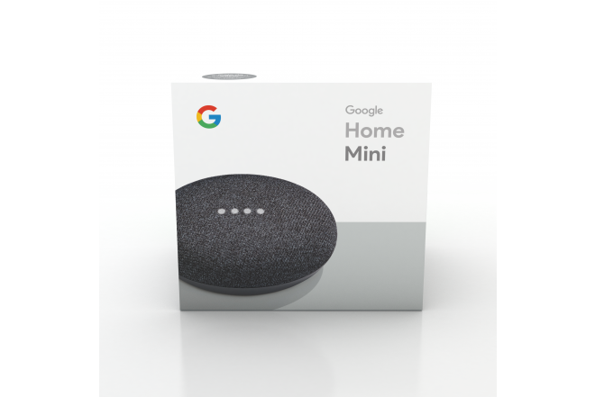 Parlante Google Home Mini Negro 5