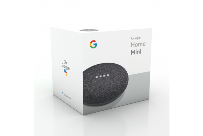 Parlante Google Home Mini Negro 6