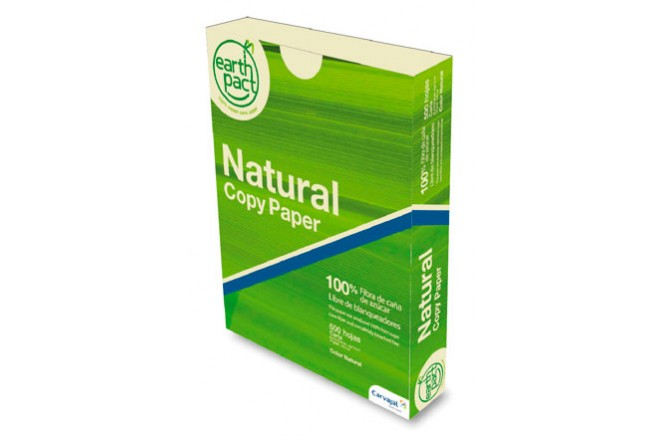 Resma de Papel EARTH PACT NATURAL Copy Carta