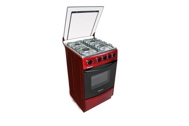 Estufa de Piso SUPERIOR Aluminium VH50EE GN Rojo
