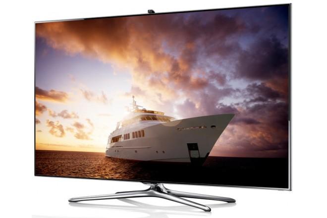 "TV 60"" LED SAMSUNG 60F7500 FHD 3D Internet"