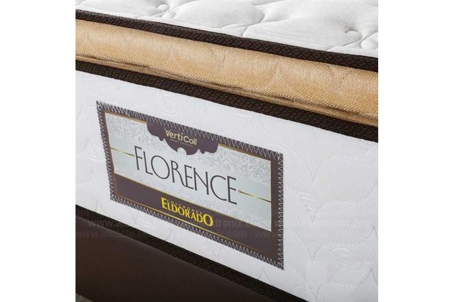 Colchón Resortado Queen ELDORADO Florence 160 x 190 cm