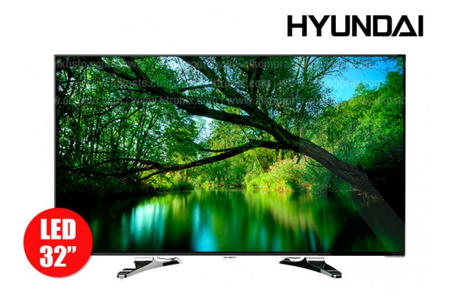 "TV 32"" (80cm) LED HYUNDAI HYLED324US HD"