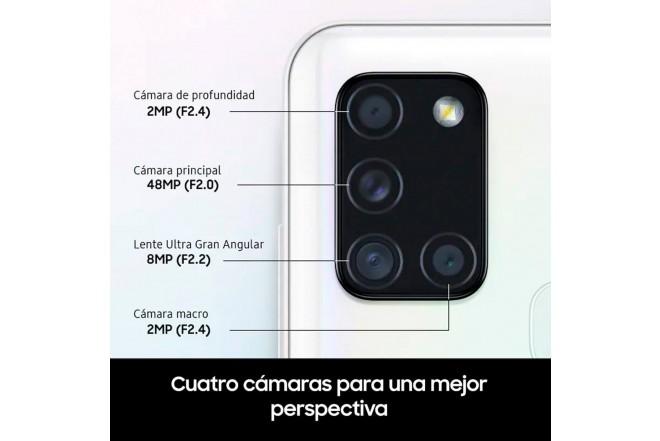 Celular SAMSUNG Galaxy A21S-128 GB Plateado-4