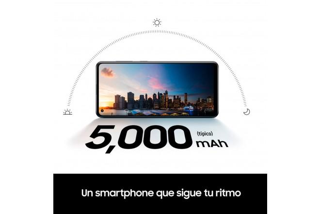 Celular SAMSUNG Galaxy A21S-128 GB Plateado-6
