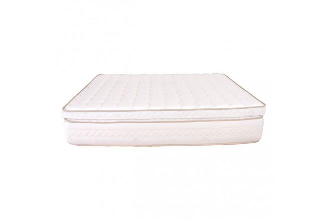 Colchón de Resorte 160 x 190 DORMILUNA Galaxy Top Extradoble