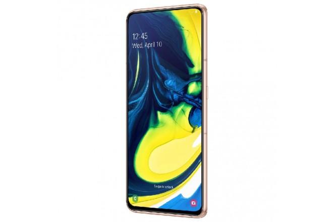 Celular SAMSUNG Galaxy A80 2019 - 128GB Dorado + JBL Flip 4 4