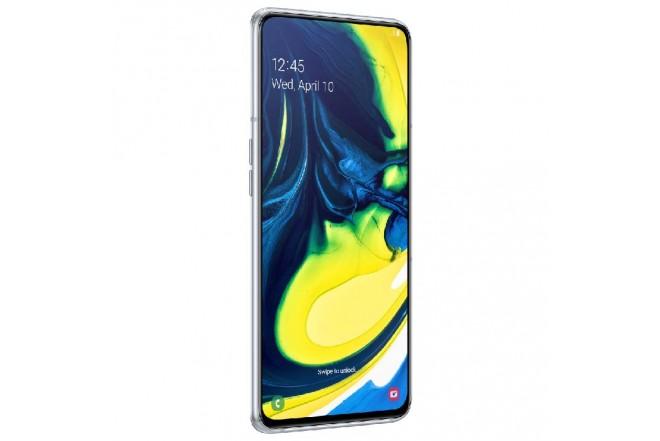Celular SAMSUNG Galaxy A80 2019 - 128GB Blanco + JBL Flip 4 2