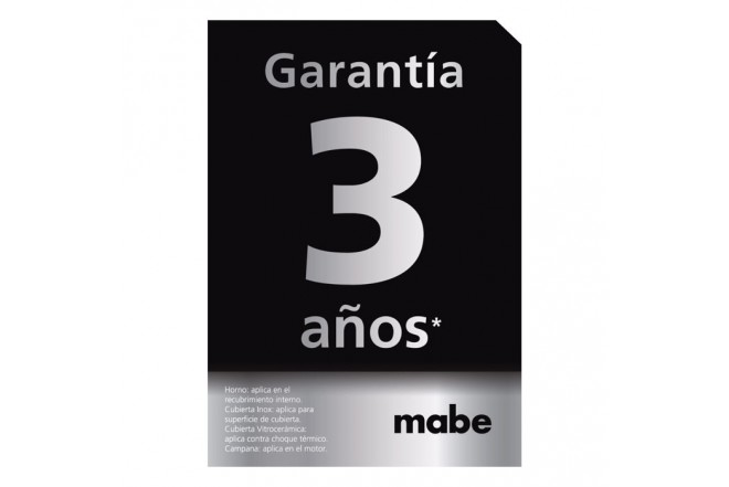 Campana MABE Pared 60 cm Vidrio Curvo CM6018PI03