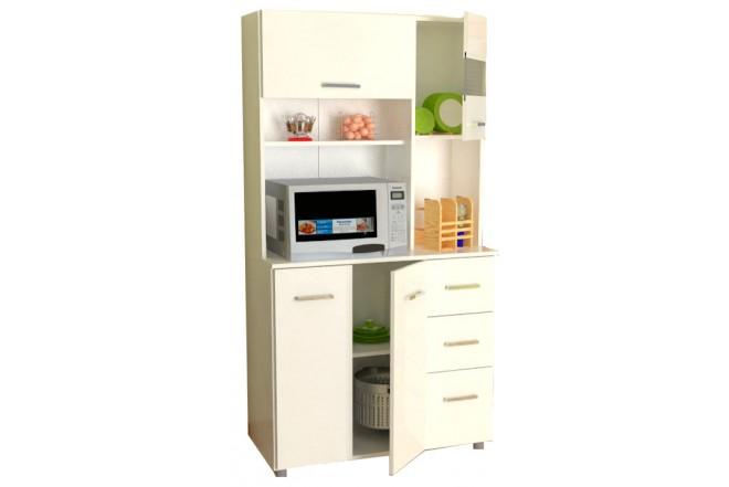 Gabinete Cocina INVAL 4 Puertas Blanco