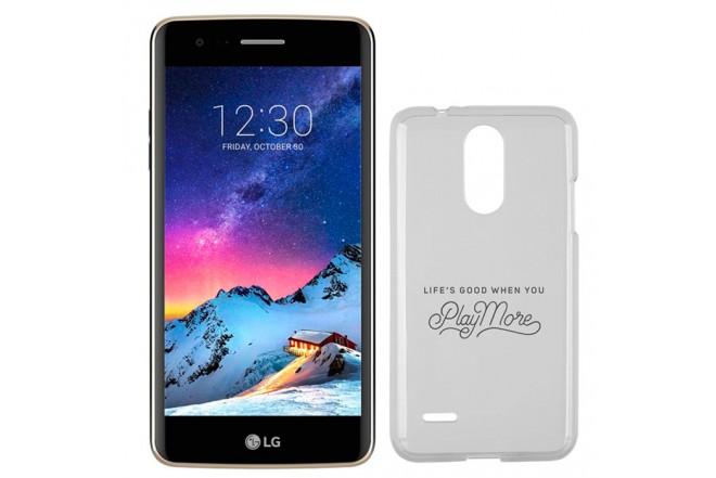 Celular Libre LG K8 (2017) DS 4G Dorado + Estuche Jelly Case
