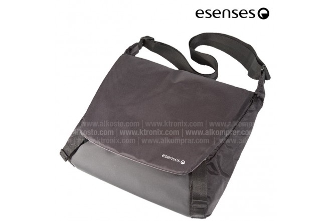 "Maletín Messenger ESENSES para tablet 10"" Gris"