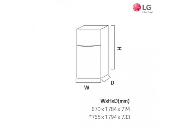 Nevera LG 457 Lt GT46HGP