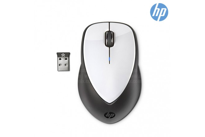 Mouse HP Láser Inalámbrico Blanco