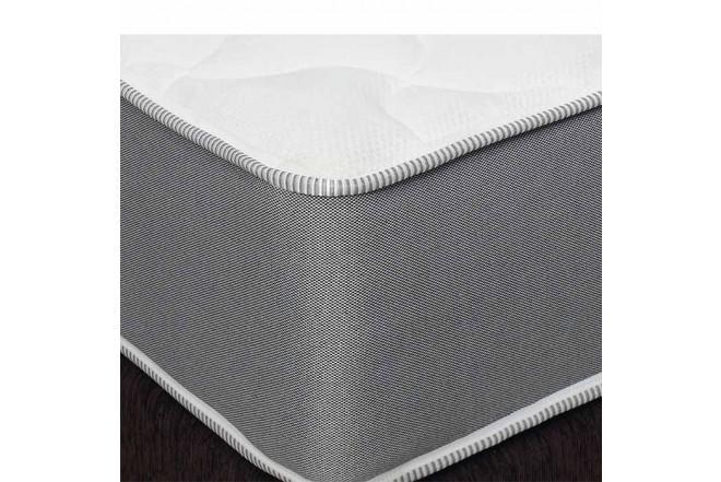 KOMBO SIMMONS: Colchón Resortado Queen Hamilton Unitop 160 x 190 cm + Base Cama