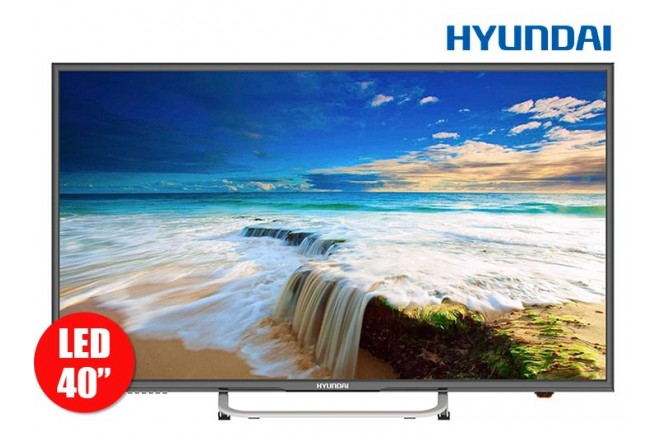"Tv 40"" 101cm HYUNDAI LED4010 Full HD Internet"