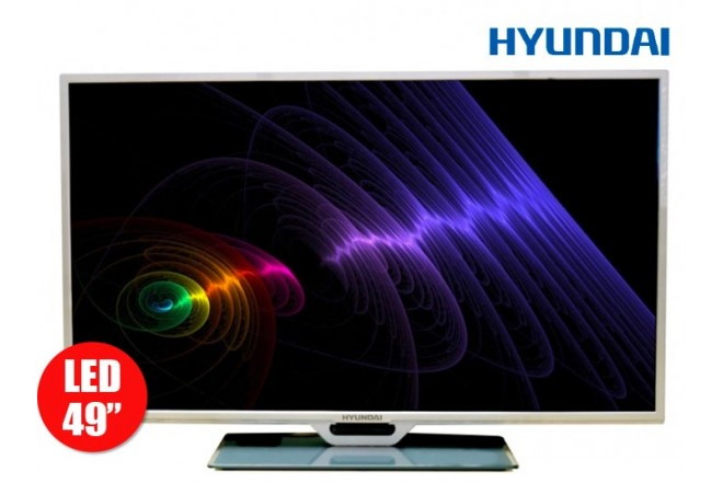"""Tv 49"""" 124cm HYUNDAI LED 49 FullHD Internet"""